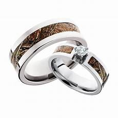 top 5 his hers camo ring sets for a fall 2015 wedding