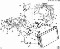 Hoses Pipes Radiator V6