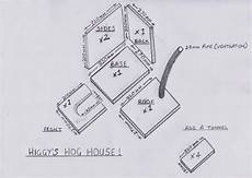 hedgehog house plans higgy s garden project as seen on bbc springwatch