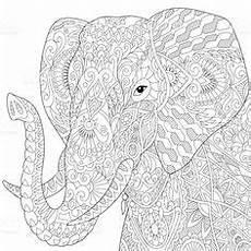 Ausmalbilder Elefant Erwachsene Die 115 Besten Bilder Elefanten In 2019