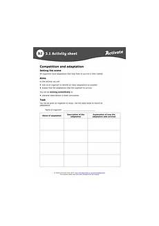 competition adaptation new ks3 by hannahradford teaching resources