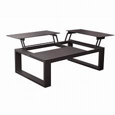 table basse avec plateau table basse avec plateau relevable zendart outdoor