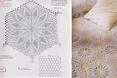 copriletto all uncinetto la bottega delle meraviglie di gabry schemi per copriletto