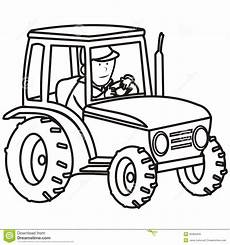 tractor coloring book royalty free stock photo image