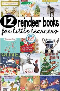 12 reindeer books for little learners teaching preschool