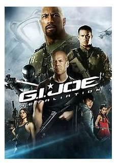 gi joe retaliation dvd 2013 new ebay