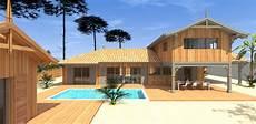 Construction D Une Cabane Bois Avec Piscine Et Studio A La