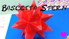 sterne basteln aus papier bascetta origami 3d