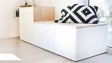 Ikea Hack Wohnzimmer - do it yourself aus besta und holz wird ein sideboard mit