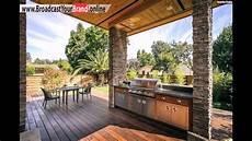 outdoor küche design holzterrasse outdoor k 252 che essplatz haus kalifornien