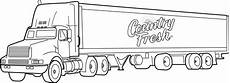 road vehicles coloring pages 16417 country fresh transport truck coloring pages picolour