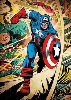 Official And Licensed Displate Of Captain America On A