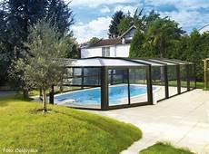 pool dach bauen
