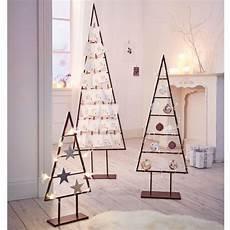 Weihnachtsbaum Modern Holz - deko objekt christbaum dekorierbar metall vorderansicht