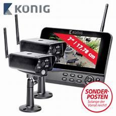 funk 220 berwachungskamera system mit 7 lcd monitor sas