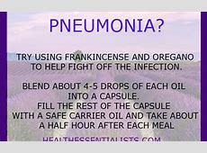 young living oils for pneumonia