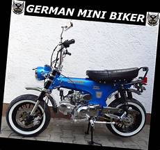 German Mini Biker - gmb skyteam skymax 125 pro quot supermax quot blue edition de