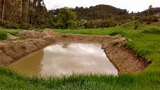 pond digging with backhoe was it well done ponds at permies