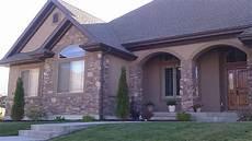 spectrum brown stucco stucco homes house