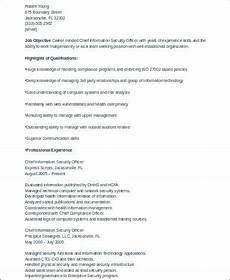 sle security officer resume 8 exles in word pdf