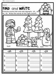 division worksheets 6331 winter math and literacy no prep printables grade grade phonics grade