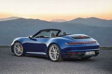 porsche 911 992 cabrio 2019 bilder preis motor