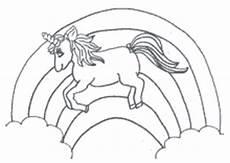 Regenbogen Einhorn Zum Ausmalen Ausmalbild Einhorn Fabelwesen Einh 246 Rner Unicorn