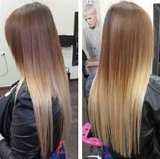 Ombre Glatte Haare - cool schlank und hair mit ombre glattes haar
