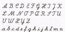 Lateinische Ausgangsschrift A Handwriting Alphabet