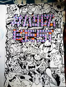 Cara Membuat Karakter Doodle Harian Mahasiswa Suram