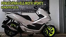 Modifikasi R 2018 by Modif Velg Honda New Pcx 2018