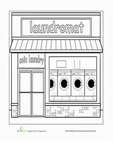 coloring pages places in town 18038 paint the town laundromat with images laundromat coloring pages pattern coloring pages