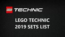 Lego Technic 2019 Sets List 1h 2019 Sets