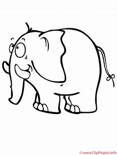 Gratis Malvorlagen Elefant Elefant Malvorlage Malvorlagen Gratis