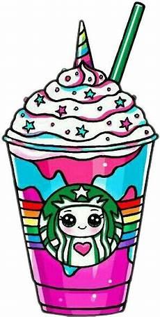 Malvorlagen Unicorn Cake Starbucks Unicornstarbucks Unicorn Rainbow Drawsocute