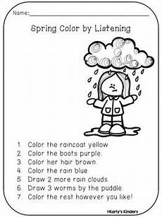 following directions comprehension worksheets 11654 color by listening a following directions activity following directions activities