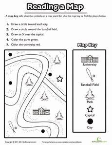 free mapping worksheets grade 1 11560 using a map key social studies worksheets geography worksheets kindergarten social studies