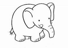 Malvorlage Kleiner Elefant Elefanten Ausmalbilder 08 Ausmalbilder