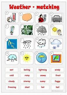weather worksheets esl adults 14493 weather matching worksheet free esl printable worksheets made by teachers