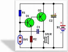 Circuits Mini Alarm Circuit Schematic