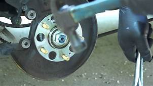 2006 Honda Accord Rear Hub  Bearing Replacement YouTube