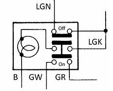 7 Pin Hazard Switch Wiring by Hazard Switch Lotus Seven Club