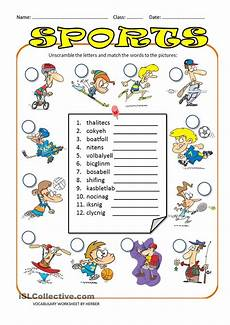 summer sports worksheets 15878 unscramble sports ws activities free activities for learn