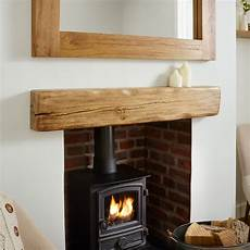interior beams truss mantle rustic wood reclaimed solid oak beam rustic character mantel shelf aged