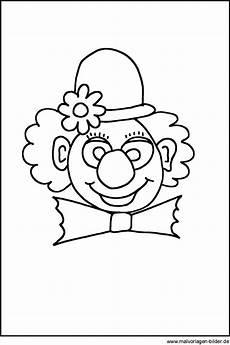 Malvorlagen Clown Unicorn Kopf Ausmalbild Gesicht Ausmalbild