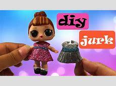 LOL surprise Nederlands   DIY jurkje maken   YouTube