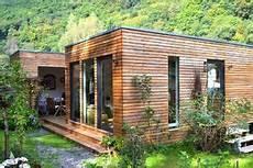 Japanische Häuser In Deutschland - minihaus ferienhaus kubus fertighaus ausbauhaus