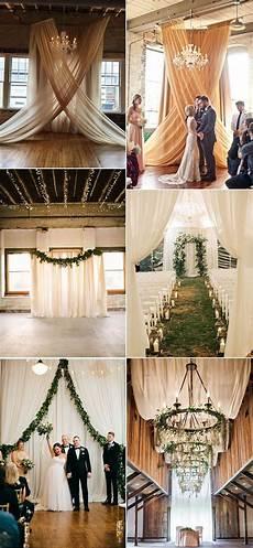 trending 20 gorgeous wedding ceremony ideas with draped