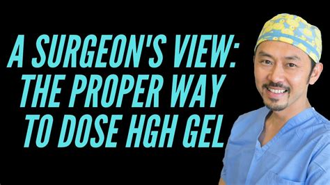 A Dr's Review Of New U Life Hgh Gel--