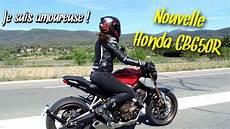 La Meilleure Moto A2 Honda Cb650r Une Tuerie